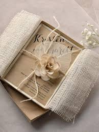 burlap and lace wedding invitations diy wedding invitations burlap lake side corrals