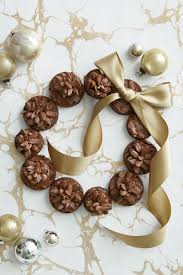 best pinecone brownie wreath recipe how to make a pinecone