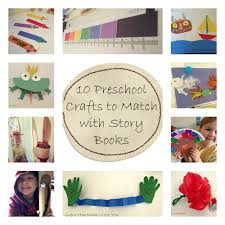 10 preschool story and craft ideas homeschool learning time and