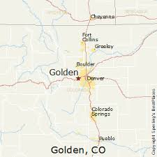 colorado population map best places to live in golden colorado