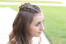 homecoming cute girls hairstyles