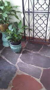 help w wall color to go with slate floor u0026 dark wood trim in sunroom