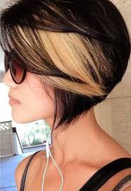 short brown hair with blonde highlights top best short glorious black brown hairstyles with blonde