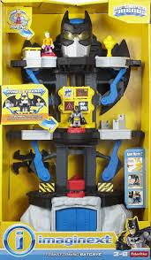 imaginext batcave playset featuring batman joker action