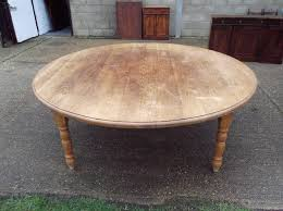 antique round dining table large antique oak round table huge 7ft diameter solid oak round