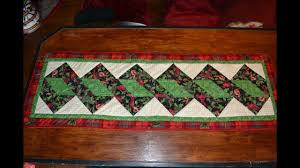 episode 64 easy quilted table runner