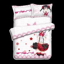 Japanese Bedding Sets Japanese Anime Lovelive Nico Yazawa Bed Sheets Bedding Sheet