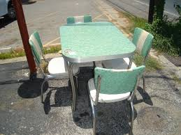 vintage retro 1950 u0027s kitchen table w 4 chairs 260 craigslist