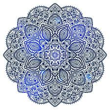 blue indian ornament royalty free cliparts vectors and stock