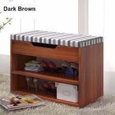 Dark Brown Changing Table by Sokano B317 Shoe Rack With Cushion Seat Dark Brown 2913 Lazada