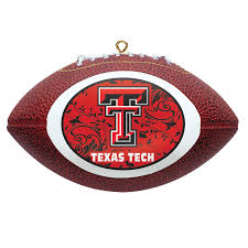 amazon com ncaa texas tech red raiders mini replica football