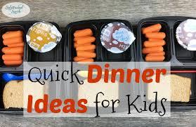 Ideas For Dinner For Kids Quick Dinner Ideas For Kids Sidetracked Sarah