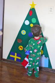 christmas christmas ornaments felt ornament decor big set tree