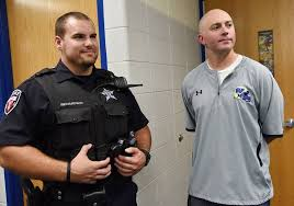 When The Biggest Annual Football Game Comes To Town Wheeling Cop Helps Save Life Of Referee During Football Game
