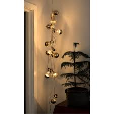 copper globe string lights led warm white bulb string lights indoor outdoor