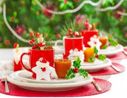 table decor for christmas party party decoration picture
