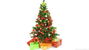 pictures of christmas trees and presents christmas lights decoration