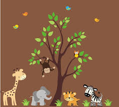 238 best safari nursery decals images on pinterest nursery wall