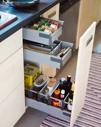 kitchen cabinet slide out trays 67 cool pull out kitchen drawers and shelves shelterness