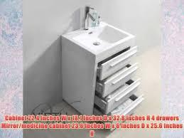 Bathroom Vanities 24 Inches by Virtu Usa Js 50524 Gw 24 Inch Bailey Single Sink Bathroom Vanity