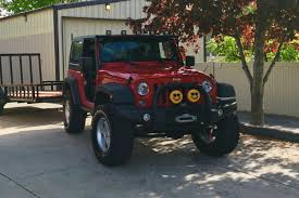 jeep lifted 6 inches jeep wrangler rubicon two door 2 5 inch lift with 33 inch tires