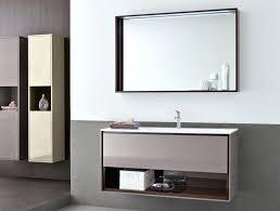 Narrow Cabinet For Bathroom Wood Vanity Double Sink Natural Cabinets Bathrooms Bathroom