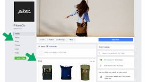 cortana take me to my facebook page how to add a shop section to your facebook page
