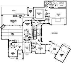 house plans with portico european house plan 4 bedrooms 4 bath 4671 sq ft plan 63 347
