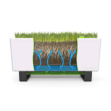 self watering planter mini bench self watering planter glowpear touch of modern