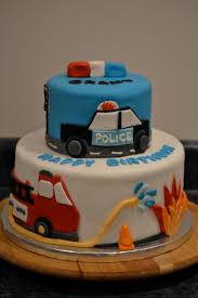 fire u0026 police car cake cakes by suzanne modlowski cakes by