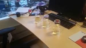 Office Desk Prank Office Pranks Water Prank