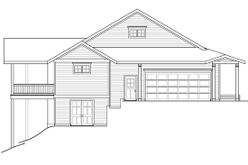 baby nursery sloping lot house plans sloping lot house plans