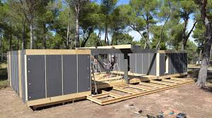 Pop Up Tiny House by Pop Up House The Affordable Passive House Youtube