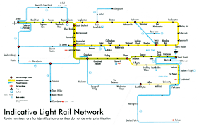 Portland Light Rail Map by Transit Maps