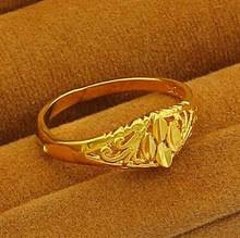 new arrival fashion 24k gp gold plated mens gold ring men 24k reviews online shopping gold ring men 24k
