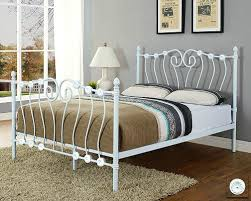 metal beds double beautiful marseilles ft small double ivory