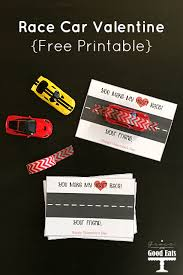 race car valentine cards free printable grace good eats