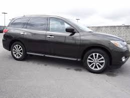 nissan pathfinder gun metallic 2015 nissan pathfinder s bluetooth suv for sale in benton ar