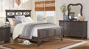 cindy crawford bedroom set cindy crawford home seaside gray 5 pc queen panel bedroom queen