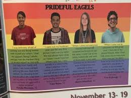 how to buy high school yearbooks lgbt section in high school yearbook outrages parents newnownext