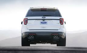 Ford Explorer Base - ny show 2018 ford explorer gets minor revisions before all new