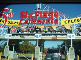 Six Flags October Six Flags Parking Entrance Mapio Net