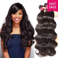 body wave hair with bangs unice indian body wave human virgin hair 4pcs pack unice