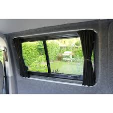 How To Blackout Windows by Transit Custom Van Curtain Kit Black Out Curtains Windows