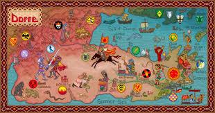 7 Kingdoms Map Asoiaf University