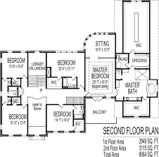 Brick Colonial House Plans 6000 square foot million dollar house floor plans 6 bedroom blueprints