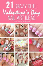 21 crazy cute valentine u0027s day nail art ideas make it and love it