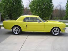 1965 yellow mustang ericsstang 1965 ford mustang specs photos modification info at