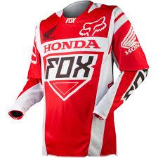 fox racing motocross gear apparel fox racing off road jerseys men 360 honda red jpg 1001