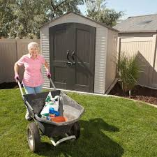 Rubbermaid Shed 7x7 Big Max by Lifetime 60042 Lifetime 7 X 7 Shed On Sale With Fast U0026 Free Shipping